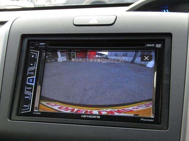 【バックカメラ!】便利なバックカメラ付で駐停車も安心ですね♪ガイドもついていますので切り返しもスムーズ!