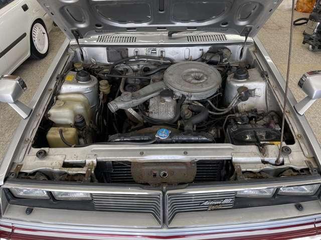 アストロン80・G54Bエンジン!5ケタメーター(8.4万キロ)なので走行不明ですが機関良好です!