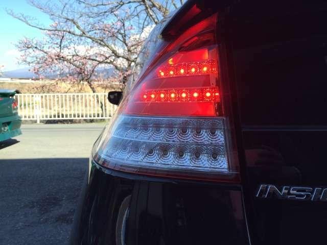 社外LEDテールに交換済み!ドレスアップはもちろん、夜間も明るく点灯!!