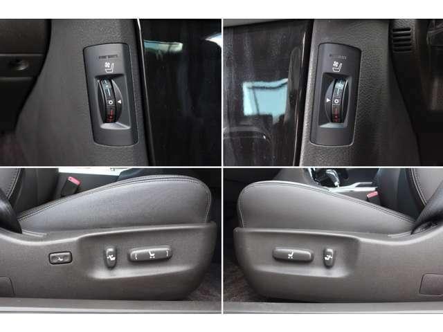 ◆運転席&助手席パワーシート、シートヒーター、シートクーラー装備◆運転席メモリー機能付き