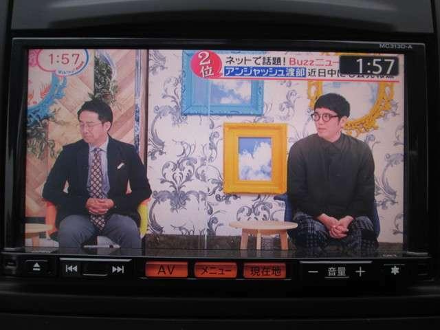 地デジフルセグTV内蔵♪