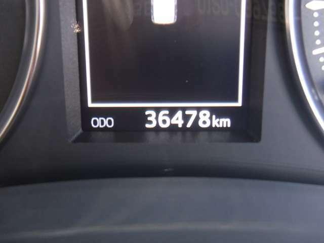 ★現走行距離36,478km★