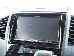 メモリーナビ+フルセグTVでドライブの際も安心です!