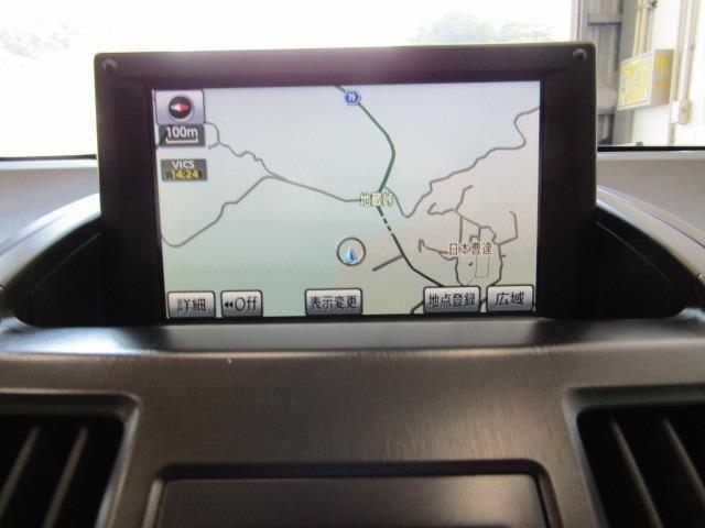 メーカー装着のHDDナビ+Bカメラ+ETC付きです。詳細地図により目的地をピンポイントで設定できます。初めての道でも迷いにくく、ロングドライブも快適ですよ♪