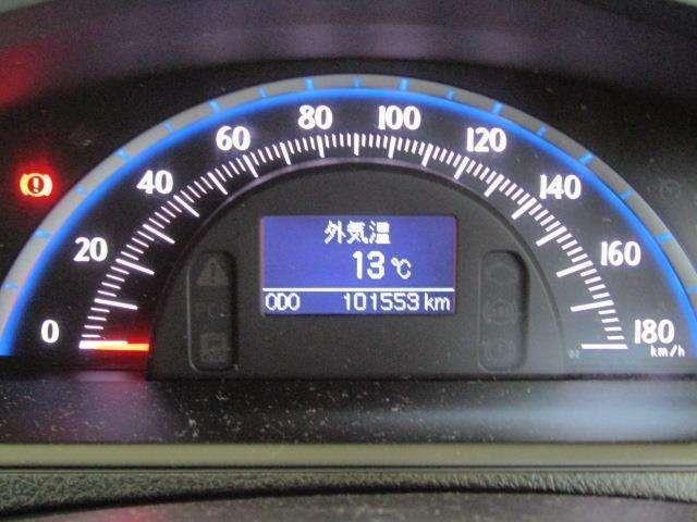 走行距離はおよそ102,000kmです。