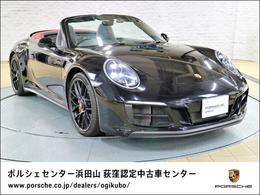 ポルシェ 911カブリオレ カレラ GTS PDK カーボンステアリングホイール