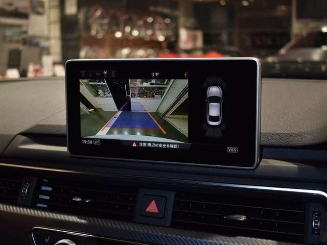 バックカメラ&フロントカメラで安全に駐車出来ます!
