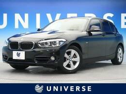 BMW 1シリーズ 118d スタイル 純正HDDナビ バックカメラ LEDヘッドライト