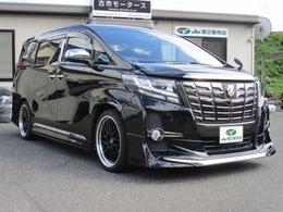 トヨタ アルファード 2.5 S Aパッケージ タイプ ブラック モデリスタエアロ Wムーンルーフ ドラレコ