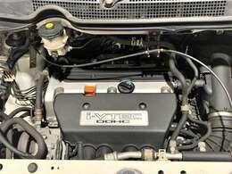 エンジンは2000ガソリンでホンダの技術がぎっしりと詰まったi-VTEC。大きなボディでも力強く走行が可能なのでドライブも楽しめる快適エンジンです。
