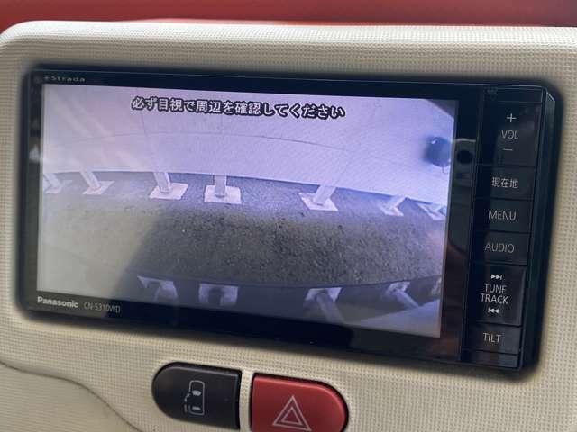 パナソニックメモリーナビフルセグTV(ブルートゥース・DVD再生可能)が付いております、バックカメラ付きですので車庫入れもとても安心です。