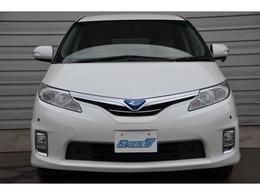 トヨタ エスティマハイブリッド 2.4 G 4WD 7人乗り アウトドアコンセント