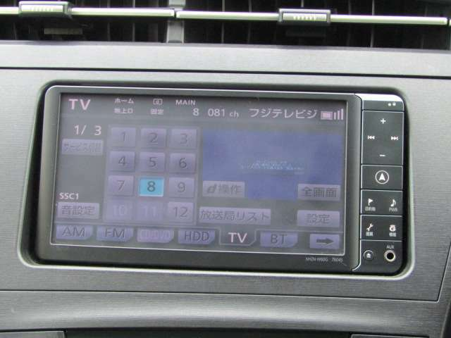 【純正HDDナビ装備!】DVD再生&音楽サーバー&ブルートゥース&フルセグTV&バックカメラ機能も付いてます☆