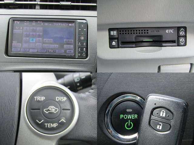 H23 プリウス S LEDエディション 純正フルセグナビ/バックカメラ/DVD再生/音楽サーバー/ブルートゥース/ETC/インテリキー/ステアリングスイッチ/LEDヘッド/ヘッドライトウォッシャー/ウィンカーミラー/