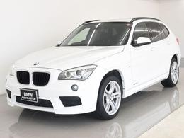 BMW X1 xドライブ 20i Mスポーツ 4WD 後期 社外ナビ Bカメ ETC スタッドレス付き