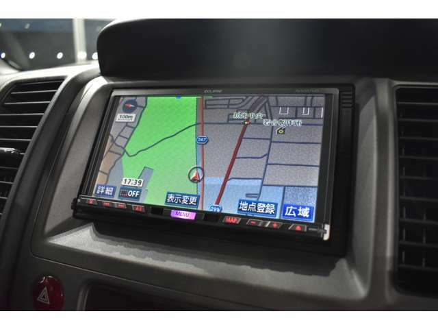 ナビゲーション付き ETC、GPSレーダー、テレビ&ナビキット、地デジチューナー等も取り付け可能です!