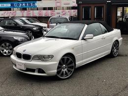 BMW 3シリーズカブリオレ 330Ci 純正19AW新品タイヤ 本革純正ナビ記録簿