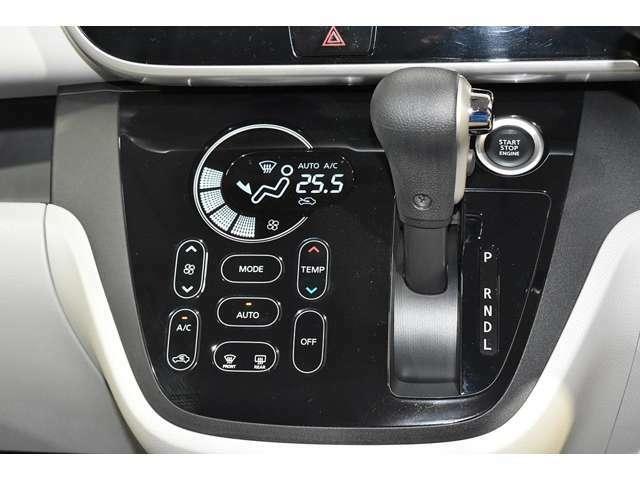 つややかで上品質のタッチパネル式オートエアコンを標準装備!スマートフォンの様な操作性&高い視認性&わかりやすい操作音で使いやすいですよ♪