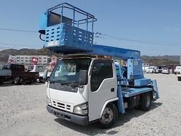 いすゞ エルフ 12m高所作業車・5MT・3ペダル