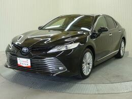 トヨタ カムリハイブリッド G レザーパッケージ MOPナビ付き