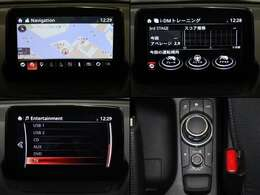 マツダコネクト ナビ フルセグTV Bluetooth機能付き