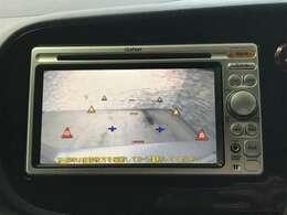 駐車時にとても便利なバックモニターが搭載されています。