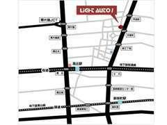 名古屋市内の中心部に近い場所に立地しています。