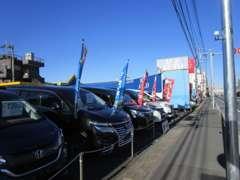 お陰様で第二展示場オープン!魅力的な展示車が多数有ります!