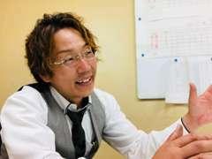 店長の船橋 譲(フナハシ ユズル)です。「ありがとう」があふれるお店を目指しています!今日も一日笑顔で頑張ります!!