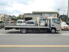 自社で積載車を所有しております。急なトラブルにも対応できます。近隣の方ならしっかりサポートできます。