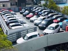 2F展示場です☆開放感溢れる展示場で様々なお車をご覧下さい☆