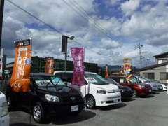 国産車、輸入車問わず在庫しています。