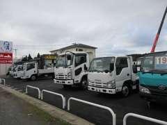 高所作業車、塵芥車、クレーン車など多種取り扱っております!JU加盟店で、いすゞ協力店です!