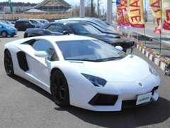 高級輸入車も取り扱っております。
