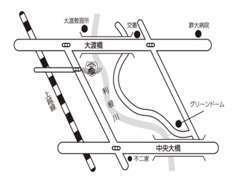 前橋インターから約5分!上越線、群馬総社駅から車で約5分!(事前にお電話を頂ければ、駅までお迎えにあがります。)