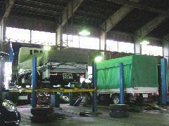 普通自動車、軽自動車はもちろん、小型四輪、大型特殊、小型二輪まで当社で車検・整備対応いたします♪♪http://hokusha.com/