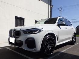 BMW X5 xドライブ 35d Mスポーツ ドライビング ダイナミクス パッケージ 4WD 純正オプション22インチアルミ