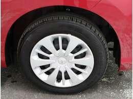 ホイールキャップ付きタイヤです