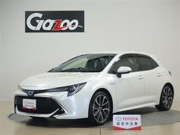トヨタ カローラスポーツ 1.8 ハイブリッド G Z メモリーナビ・フルセグTV・ETC