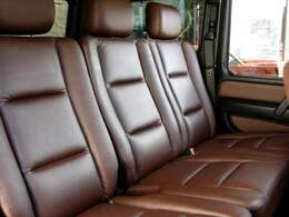 とても綺麗な後部座席ISOFIXもついえい