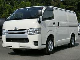 トヨタ ハイエースバン 2.0 中温冷凍バン ロング 最低設定温度-7℃ 冷蔵冷凍車 8ナンバー