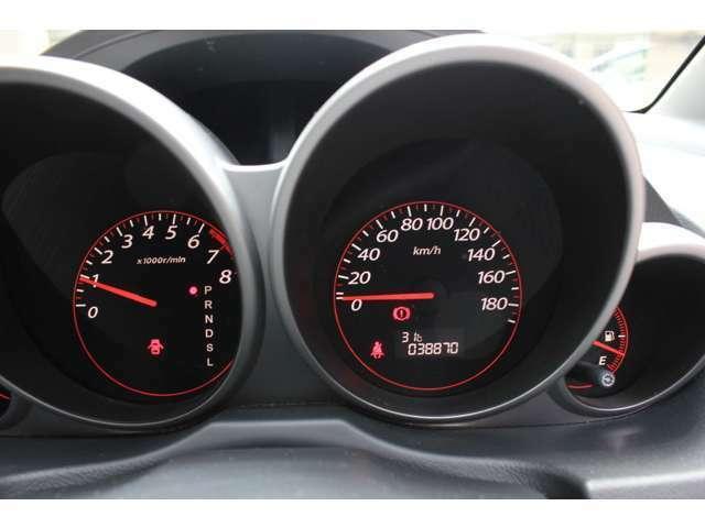 38870キロ!当店のお車は全車走行メーター管理システムによる走行距離チェック通過済みです!メーター改ざん車は販売致しませんのでご安心下さい!