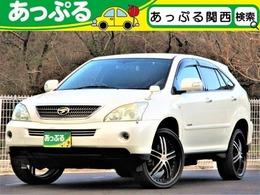トヨタ ハリアーハイブリッド 3.3 Lパッケージ アルカンターラ プライムバージョン 4WD 22AW ナビTV Bカメ ETC HID