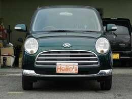 ブリティッシュグリーンのGINO X地区限定車
