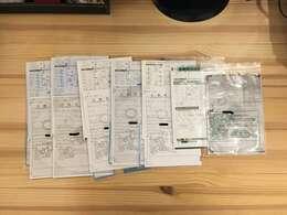 当時の車検時の車検証コピー&記録簿あり。