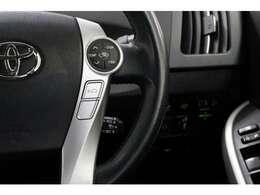 レーダークルーズコントロールも装備されております。設定した速度よりも前方の車が遅い場合は自動で速度を調整してくれます。