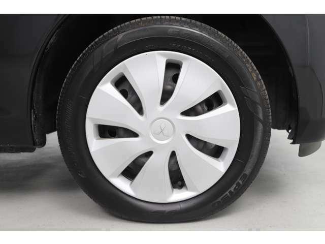 タイヤ・ホイールはこのようになっております♪
