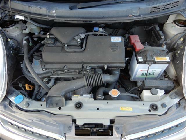 良く整備されたエンジンです。納車後に何かあっても当社に相談してください。安心してご利用できるお手伝いを行いなす。