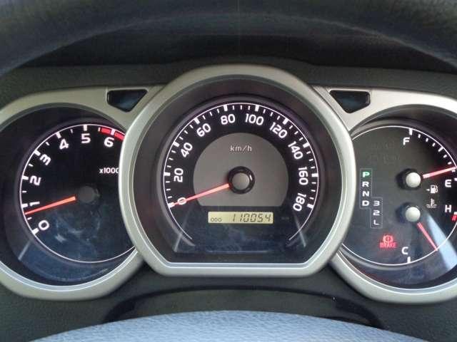 走行距離は11万Kmです。エンジン、ミッション好調です。