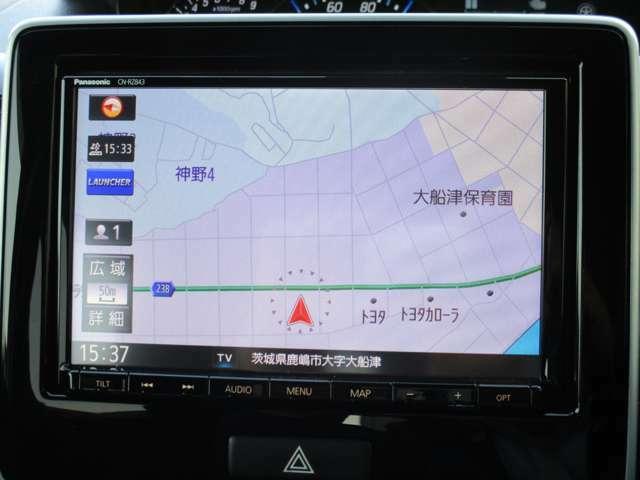 ★ナビゲーション★フルセグ・DVD再生可能・ナビ型式パナソニック CN-RZ843